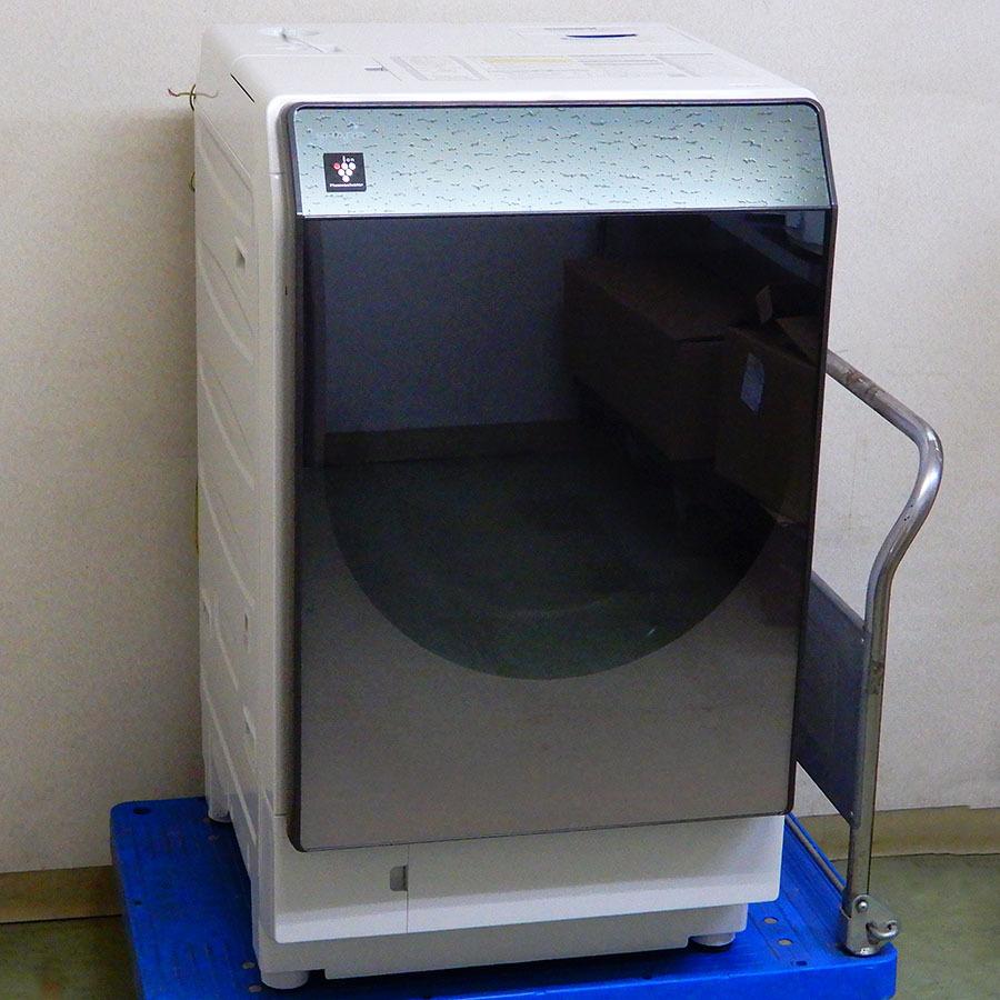 シャープ ドラム式洗濯乾燥機 洗濯11kg/乾燥6kg 左開き ES-U111-TL